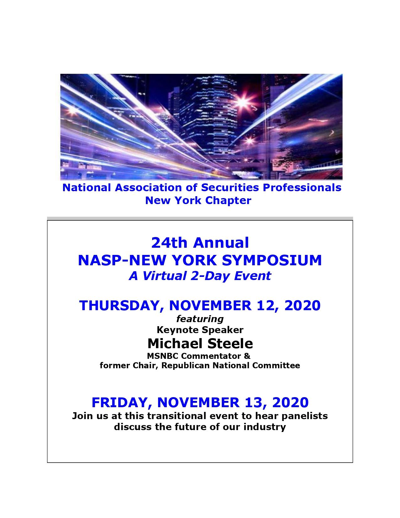 NASP NY Chapter Symposium